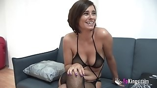 Two Spanish milfs love riding Jordi's spear
