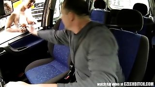 CZECH BITCH - Real whore Get Paid for intercourse between Trucks