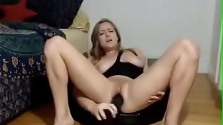 Moist light-haired honey rails on yam-sized dark-hued fuck stick - getgirls.online