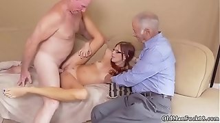 Aged and youthful playmate's comrade's daughter-in-law very first time Frannkie And