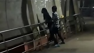 Public orgy on mumbai bridge