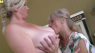 Lezzy group sex with grandmothers and youthful ladies