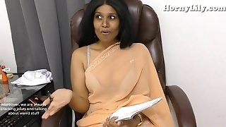 Indian educator seduces young boy pov roleplay in Hindi