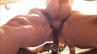 Anal invasion wife GILF 56y wide hips bbw Amber Connors