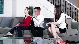 Unconventional family therapy- daddy daughter-in-law
