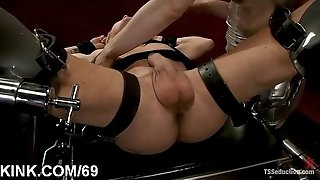 Mighty bondage & discipline orgy and assfuck going knuckle deep