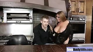 Huge-boobed Housewife (kianna dior) Having bang-out On Camera clip-18