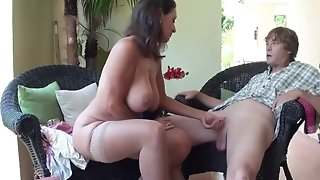 Stepmom Stepson Affair 86 (Mommy fucky-fucky Education)