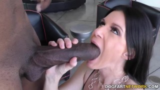 India Summer big black cock ass-fuck with Dredd