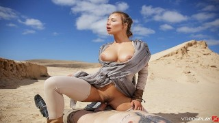 VRCosplayX.com starlet Wars romp Parody With Taylor Sands Getting screwed