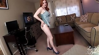 SUMMER VISIT TO AUNTIE'S building -LADY FYRE VIRTUAL fuck-fest