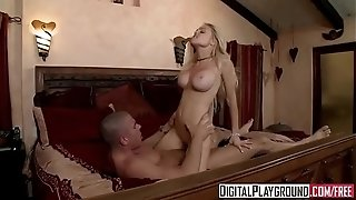 Bad lady (Jesse Jane) gets picked up on the side of the road - Digital Playground