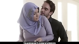 TeensLoveAnal - Analyzing doll in Hijab