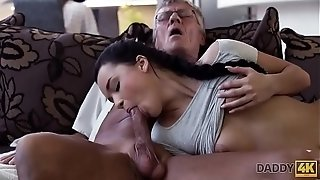 ParentDY4K. Beef whistle of mature parent pleases girl's need in superb dicking