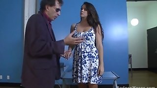 Alison Tyler Looking For A Job inhales drills Pinball