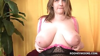 Big first-timer Carrie pounded plumper point of view